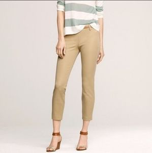 J. Crew Minnie Pants Size 4 in tan